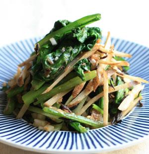 オイシックス 小松菜 レシピ